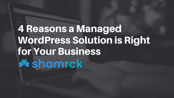 4 Reasons a Managed WordPress Solution is Right for Your Business