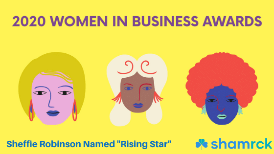"Sheffie Robinson Named ""Rising Star"" In Databird's 2020 Women In Business"